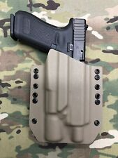 FDE Kydex Light Holster for Glock 17 22 Threaded Barrel Surefire X300 Ultra A