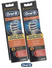 10 Oral-B TriZone Aufsteckbürsten Ersatzbürsten Oralb Bürstenköpfe  2 x 5er