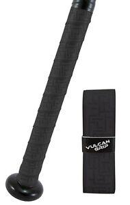 VULCAN ADVANCED POLYMER BAT GRIPS - LIGHT 1.00 MM - BLACK