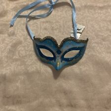 Venetian Mask Italy Venice Carnival Mask Costume Blue Masquerade