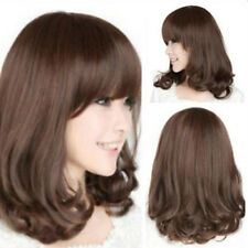 WOMEN'S FASHION HEAT RESISTANT LONG CURLY WIG HAIR COSPLAY FULL WIGS STUNNING
