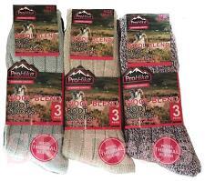 3 paia Scarpe Donna Lussuoso Lana Rich Lavoro Inverno Caldo Thermal Calzini UK 4-7