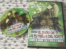 DVD MANGA NEW EL PUÑO DE LA ESTRELLA DEL NORTE VOL 2 HOKUTO NO KEN USADO