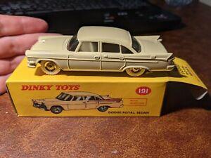 Atlas Editions Dinky Toys 191 - Dodge Royal Sedan - reproduction