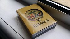 GUINNESS BEER PLAYING CARDS YEAR OF DRAGON 2012 PLASTIC BOX BRAND NEW SPECIAL