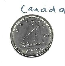 1989 Canadian Circulated 10 Cent Coin!