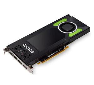 Nvidia Quadro P4000, 8GB GDDR5, 4x DP (PNY VCQP4000-PB), 3536403354824, BLK