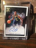 2018/19 Panini Impeccable Aaron Holiday Auto Rc #40/99