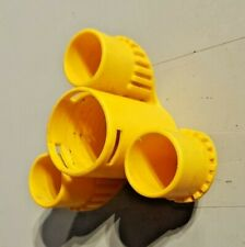 Genuine Dyson DC05 Cylinder Vacuum Cleaner Tool Holder Tidy for Pipe Yellow