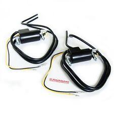 NEW 2x Kawasaki IGNITION COILS coil pack & wires 4 ohm z1 kz900 kz650 kz1000 kz