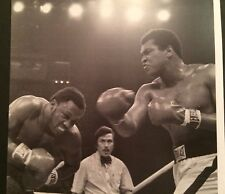 CASSIUS CLAY MUHAMMAD ALI & JOE FRAZIER IN THE BOXING RING