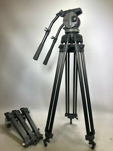 Libec H70 ii tripod kit with T78 tripod legs and Libec DL-5S extendable dolly