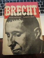 BRECHT The Man and His Work - 1960 STATED FIRST EDITION w/Dust Jacket 1st/1st