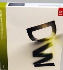 Adobe Dreamweaver CS5.5 Full Version Mac German Vat Retail Box Box