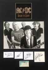 AC/DC - Rock Or Bust Signed Autographed Cd Mount