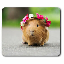 Computer Mouse Mat - Funny Ginger Guinea Pig Rodent Office Gift #24492