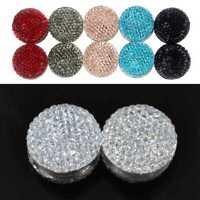 2stk / Women Magnetische Hijab Pin Kopftuch Abaya Brosche Schal-PIN w W9H4