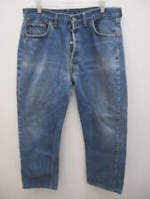 Vintage Levi's 501 Single Stitch Redline Selvedge Jeans Tag Size 38 X 33 (35/29)
