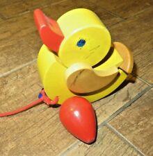 Nachziehtier Holz Ente * Kleinkind Spielzeug *