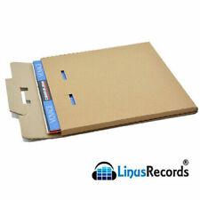 20 scatole cartone per spedire dischi in vinile 33 giri (1-3 LP - 12'') e cd new