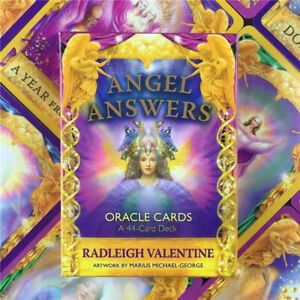 Angel Answers Oracle Card Angels Messages 44Pcs Playing Card Deck Board Games