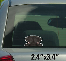 Pug Stickers, Decals 002