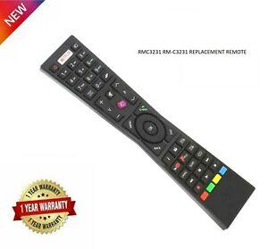 Genuine Replacement JVC RM-C3231 RMC3231 NETFLEX YouTube Fplay Remote Control