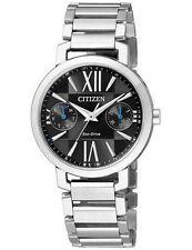 Citizen Eco-Drive FD1000-57E Ladies Solar Sapphire Glass Watch WR50m RRP$499.00