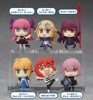 Fate Grand Order  set of 6cps mini PVC figure gift doll hot toy statue new