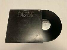ACDC Back in Black Record lp original vinyl album