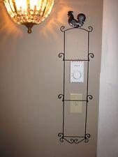 Plate Rack Wall Mount Display Rack Plate Holder 3 plate Wrought & Wrought Iron Plate Racks u0026 Hangers | eBay