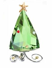 Swarovski Christmas Winter Tree Crystal Figurie Authentic MIB - 1090188