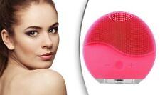 Ultrasonic Face Brush Pore Cleansing Electric Exfoliating Facial Brush Pad UK