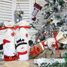 Red Wine Bottle Cover Bags Snowman Santa Claus Christmas Decoration Sequins X TE