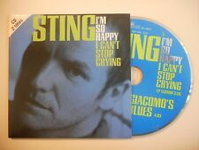 STING : I'M SO HAPPY I CAN'T STOP CRYING [CD SINGLE PORT GRATUIT]