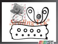 Fit 96-00 Honda Civic Timing Belt Water Pump w/ Gasket D16Y5 D16Y7 D16Y8 Engine