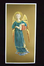 FRA ANGELICO Angel Drum Music Instrument art Print Picture Ready to frame