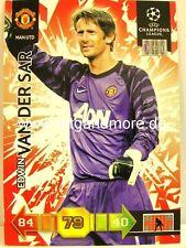 Panini Adrenalyn XL Champions League 10//11-173 edwin van der sar goal Stopper