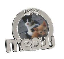 Meow chat cadre photo 3x3 nouveau chat amoureux cadeau 13122