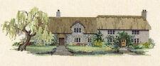 Derwentwater Swalwell Cross Stitch Willow Tree Cottages
