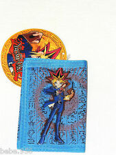 NEW Yu-Gi-Oh!    BLUE TRIFOLD WALLET BOYS & GIRLS  3+