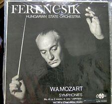 Mozart/Ferencsik     Symphonies 39 & 41     Qualiton