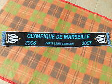 OM Scarf Echarpe Sciarpa 2006 2007 PSG Official Marseille Paris St Germain Ligue