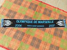 OM Scarf Echarpe Sciarpa 2006 2007 PSG Official Marseille Paris St Germain Ligue