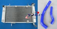 For SUZUKI LTZ400 KFX400 DVX400 2003-2008 04 05 06 Aluminum Radiator + BLUE Hose