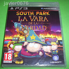 SOUTH PARK LA VARA DE LA VERDAD NUEVO Y PRECINTADO PAL ESPAÑA PLAYSTATION 3