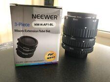 Neewer Macro Extension Tubes (for Nikon)