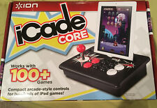 ION iCADE Core Arcade Game Joystick  Controller for Apple iPad NEW IN OPEN BOX