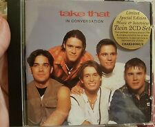 TAKE THAT in CONVERSATION LIMITED SPECIAL EDITION MUSIC&INTERVIEW TWIN 2CD SET