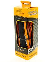 Continental Ultra Sport 2 Road Bike Tire, Orange/Black, 700x23, Folding